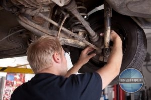 BMW alignment and suspension repair