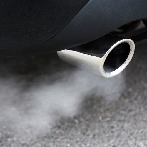 Smoke Coming From an Exhaust