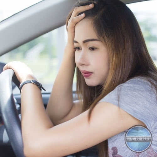 Driver Feeling Stressed at the Wheel